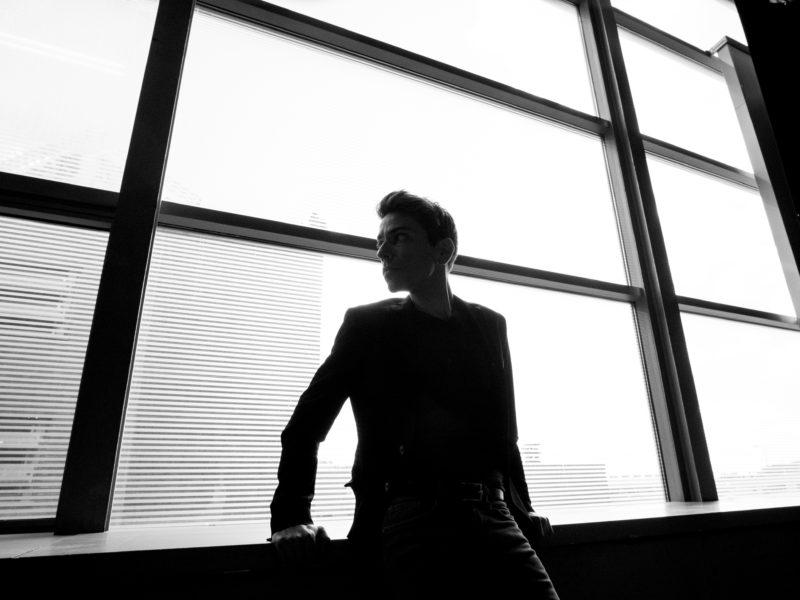 Retrato al actor Diego Ramirez