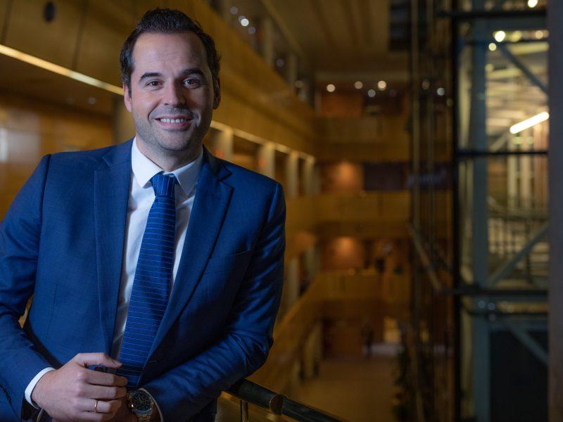 Entrevista al vicepresidente Comunidad de Madrid Ignacio Aguado