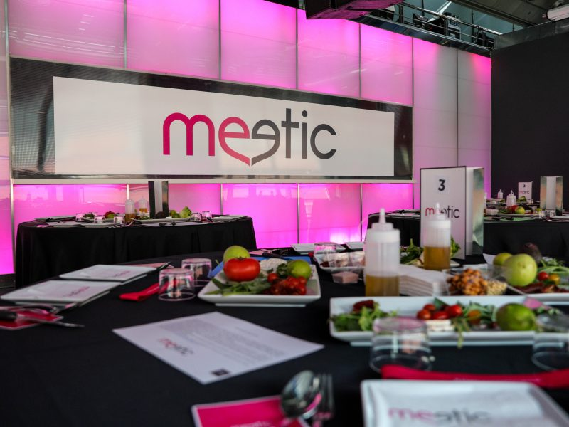 Meetic showcooking dirigido por el chef Paco Roncero