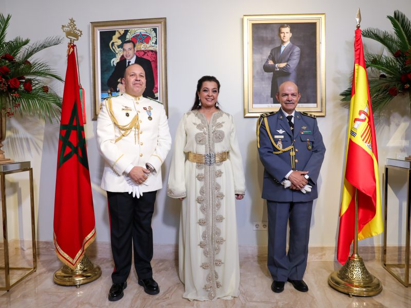 Fiesta del Trono en la Embajada del Reino de Marruecos en Madrid